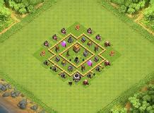 layout coc th 5 keren th5 base layouts all time top 1000 clash of clans tools