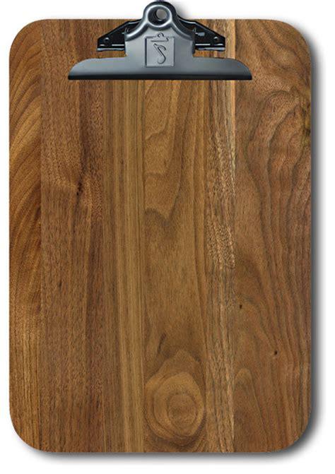 Walnut clipboard traditional desk accessories by winwood designs