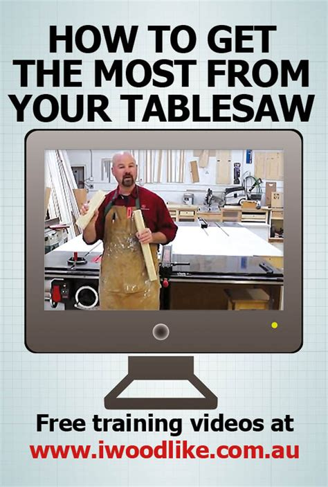 how to use a table saw how to use a table saw the free series i wood