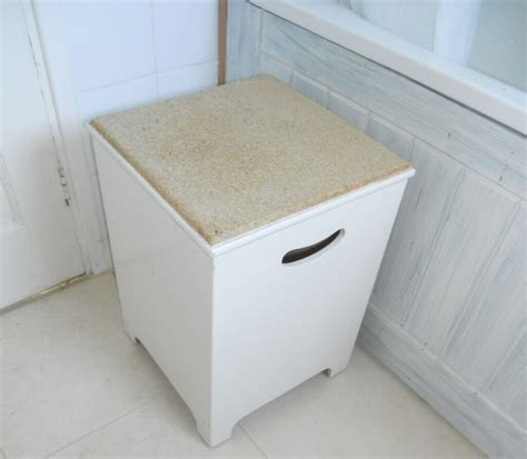 Laundry Stool With Storage by Bathroom Cork Top Seat Laundry Or Storage Box In