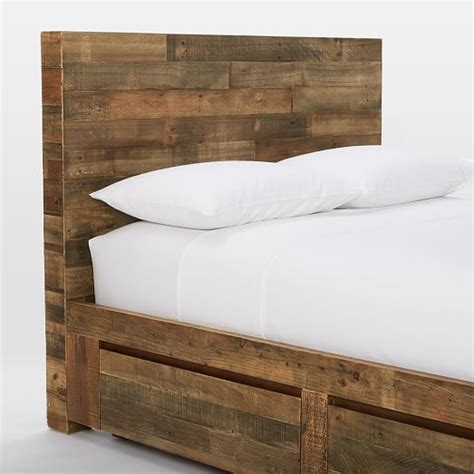 west elm emmerson bed emmerson reclaimed wood storage bed west elm