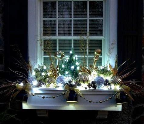 Fensterdeko Weihnachten Licht by Sch 246 Ne Fensterdeko Weihnachten Drau 223 En Licht