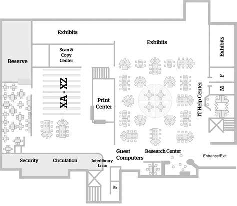 Micro Home Floor Plans mugar memorial library floorplans 187 bu libraries boston