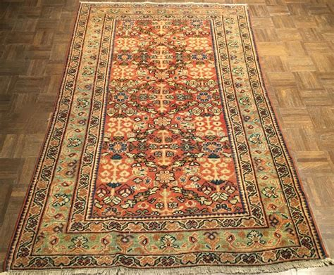 Antique Rug Appraisal by Antique Mahal Rug 4 2 Ft X 6 7 Ft