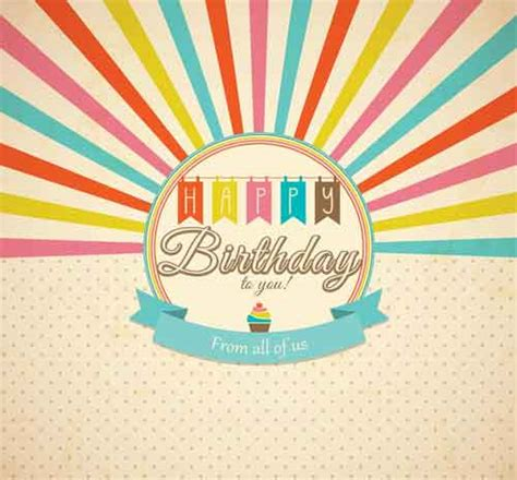 retro birthday card template birthday card template 15 free editable files to
