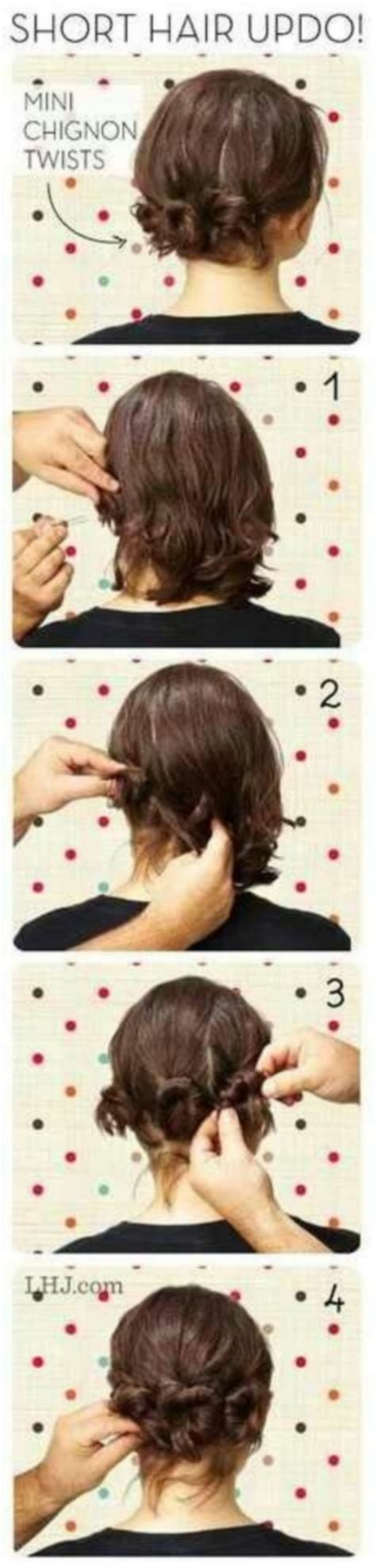 hairstyles for curly medium hair step by step best updos for short curly hair with picture step by step