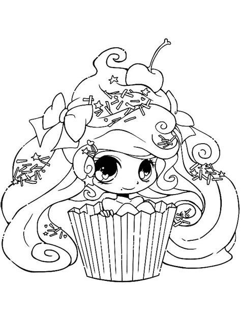 s gems coloring book books kleurplaten voor volwassenen cupcake meisje kleurplaat