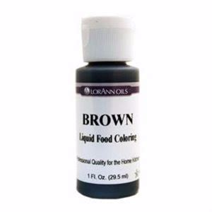brown food coloring food coloring liquid food coloring lorann oils
