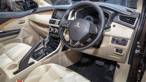 mitsubishi expander seat 2018 mitsubishi xpander interior and exterior walkaround