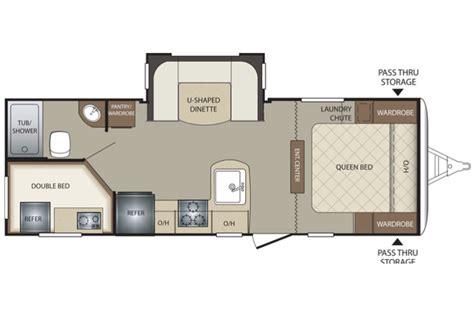 keystone travel trailers floor plans bullet 243bhs