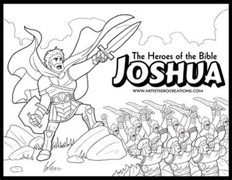 free coloring pages bible heroes the heroes of the bible coloring pages joshua