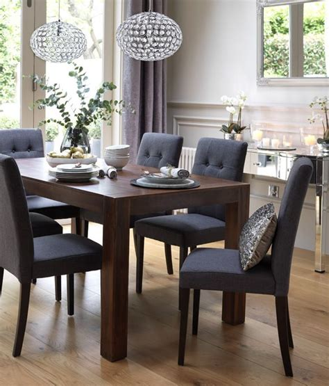 dining room tables with chairs best 25 upholstered dining chairs ideas on