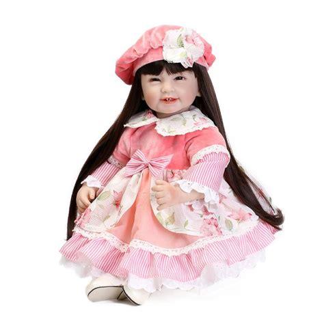 vinyl doll silicone vinyl princess doll for lifelike smile