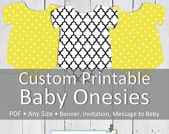 free printable onesie banner baby girl onesie banner by thelittledabbler on etsy