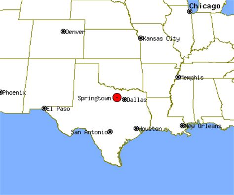 springtown texas map springtown profile springtown tx population crime map