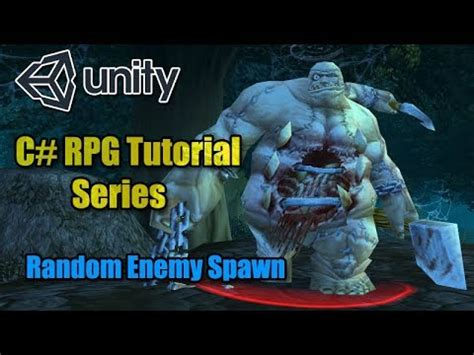 unity3d rpg tutorial c unity3d rpg tutorial 16 random spawn point system