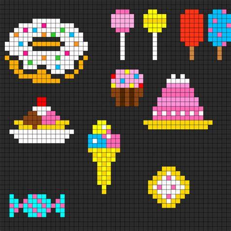 Food Perler Bead Pattern Bead Sprites Food Fuse Bead