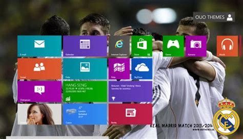 download themes real madrid windows 8 real madrid 2013 2014 theme for windows 7 and 8 8 1 ouo
