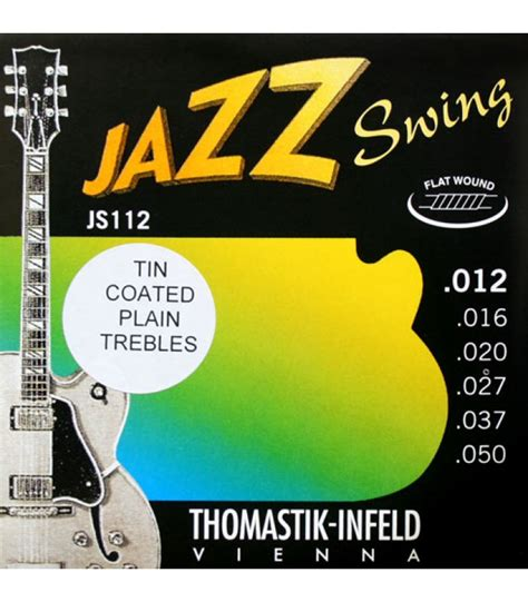 thomastik infeld jazz swing thomastik 12 50 jazz swing flatwound