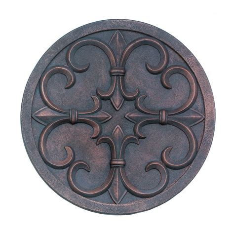 fleur de lis wall decor wholesale fleur de lis garden wall plaque wholesale at koehler home