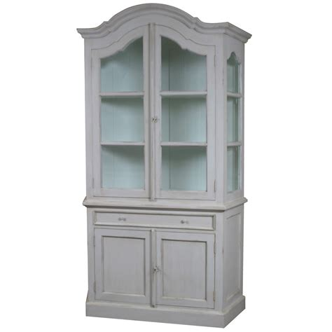 french armoire display cabinet louis french glazed display cabinet with cupboard glazed