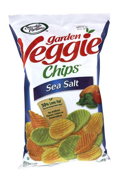 Garden Vegetable Chips Sensible Portions Garden Veggie Chips Sea Salt Hy Vee