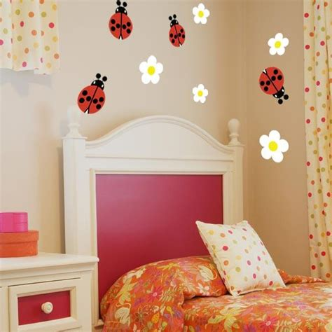 ladybird wall stickers ladybug wall decals set of 4 wall decal world