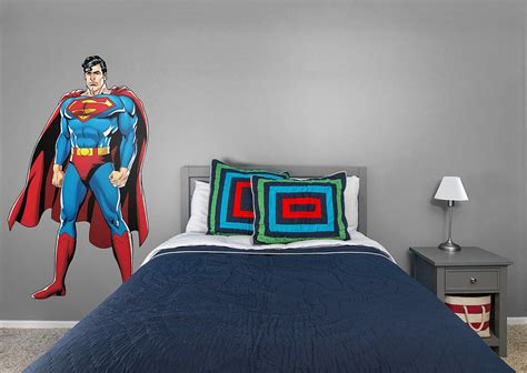 justice league wall stickers size superman justice league wall decal shop