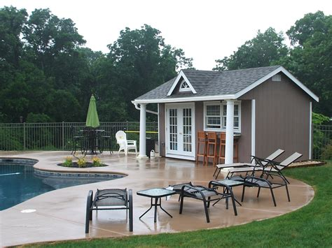 home pool house designs  ideas   amish