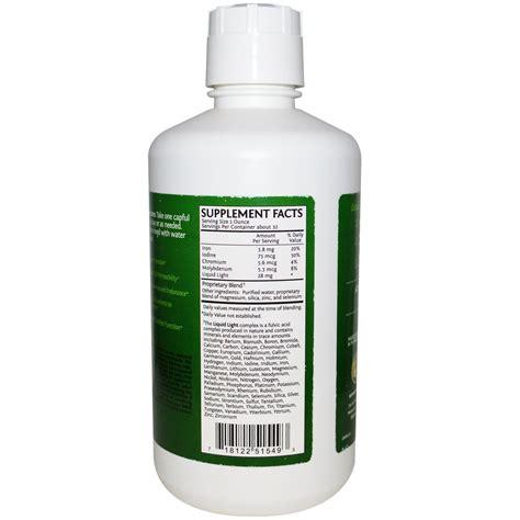 Sunwarrior Liquid Light Fulvic Acid 32 Fl Oz 946 4 Ml