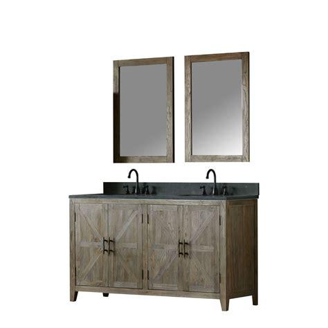 60 inch bathroom countertop 60 inch distressed solid elm double bathroom vanity moon
