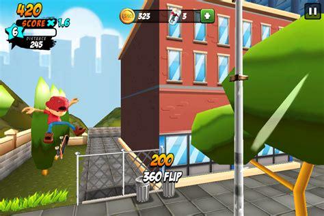 mod untuk game offline game arcade skateboard offline android epic skater mod apk