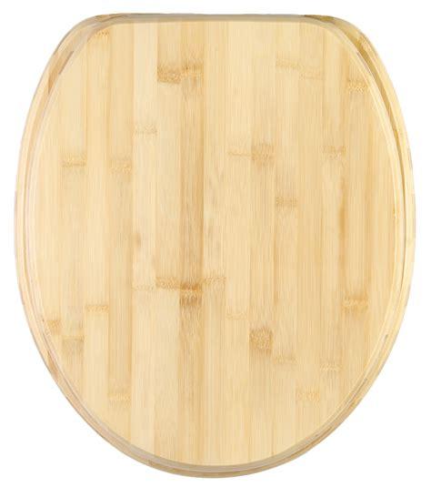 wc sitz wasserspülung wc sitz mit absenkautomatik bambus wcshop24 de