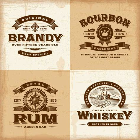 Custom Liquor Labels With A Variety Of Choices Instabox Vodka Label Template