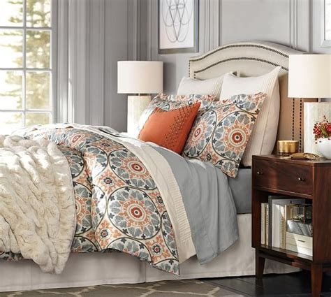 pottery barn king comforter veronica organic duvet cover sham pottery barn