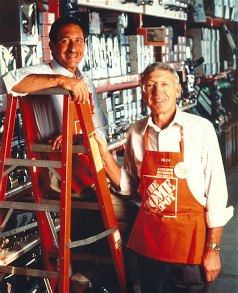 bernie and arthur blank the home depot throwback thursday the beginning of the