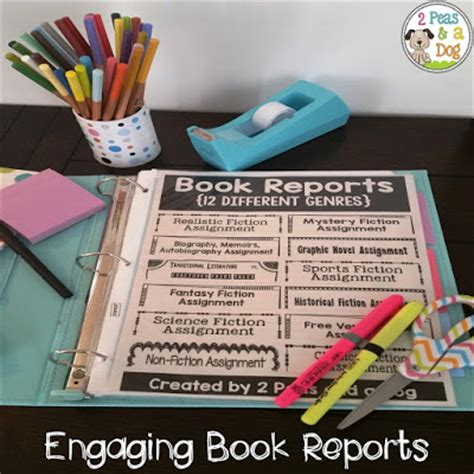 creative book reports for middle school spice up your book reports 2 peas and a