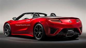 Acura Convertable Honda Nsx Convertible Gets Rendered Forcegt