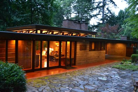 modern usonian housens frank lloyd wright floor style home modern house design at clemdesign