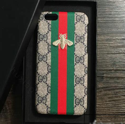 buy wholesale gucci pattern embroidery snake leather back cover for iphone 7 plus