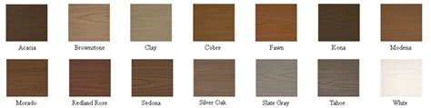 azek colors azek 174 pvc deck boards buy free sles