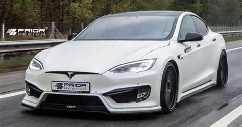 Tesla Model S Insurance Tesla Model S Receives Prior Design S1000 Aero Kit