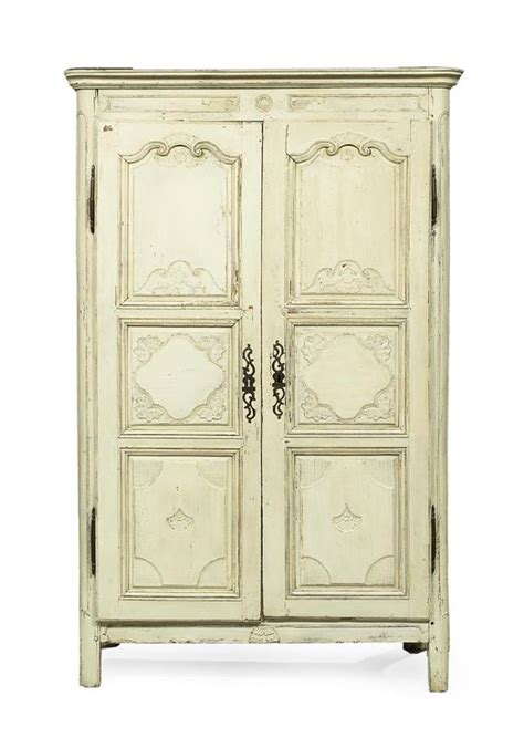 french provincial armoire french provincial polychrome armoire