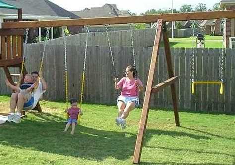 wooden swing frame kit wooden swing set frame image search results