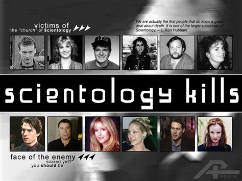 members of the church of scientology