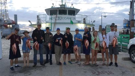 galveston party boats new buccaneer may through august the best time for jetty fishing