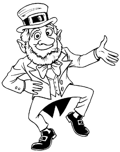 printable coloring pages leprechaun leprechaun coloring pages coloring pages to print