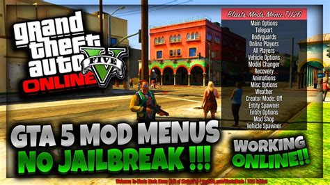 mod gta 5 tutorial gta 5 new mod menu tutorial 2017 ps3 ps4 xbox 360 xbox one