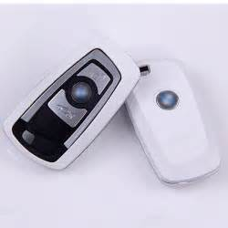 Bmw Key Cover White New Matte Surface Car Remote Key Shell Protect