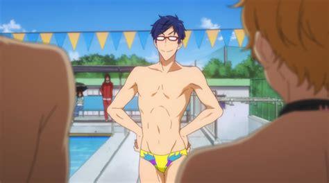 anime boy speedo boner free eternal summer swim workout fandomfitness